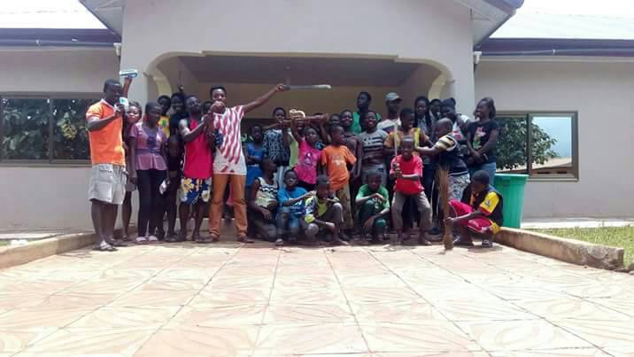 Conference Cleanup by Mamaso Youth Singers