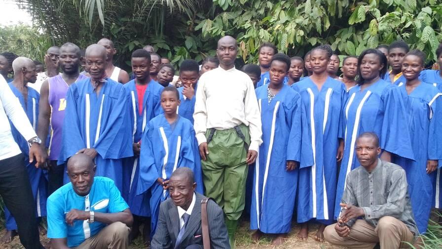 2017 Camp Meeting Baptism